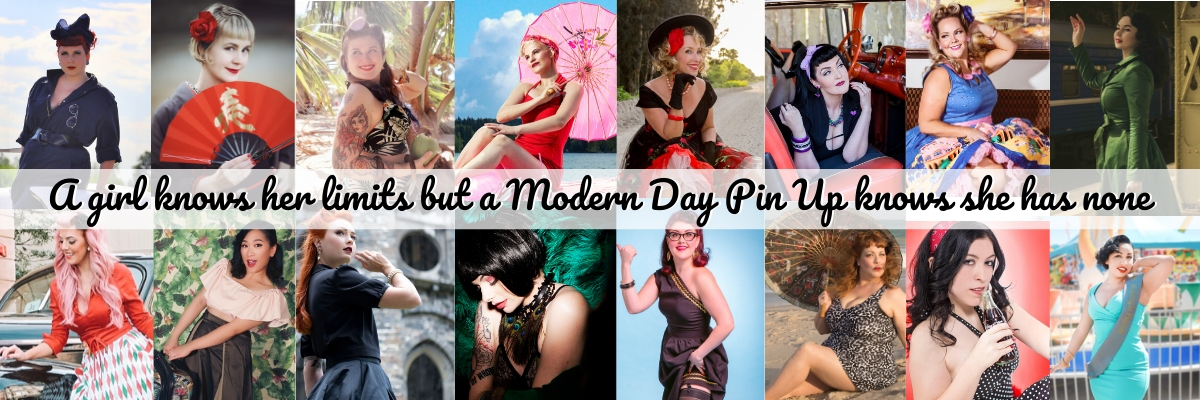 Modern Day Pin Up Models