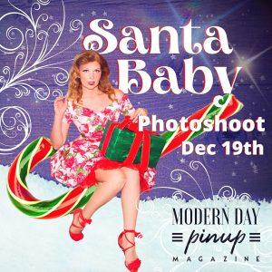 Santa Baby photoshoot