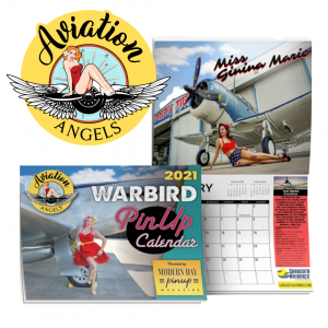 Aviation Angels Warbird Pin Up Calendar 2021