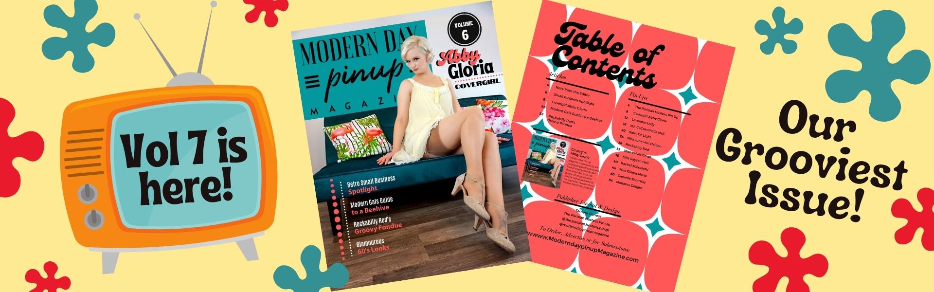Modern Day Pin Up Magazine Volume 6