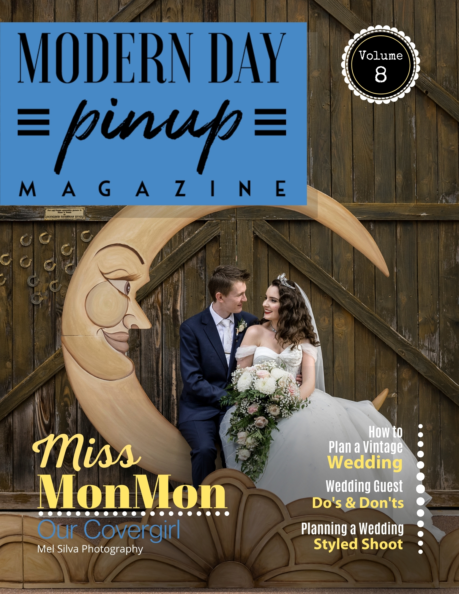 Modern Day Pin Up Magazine Wedding Special EDition