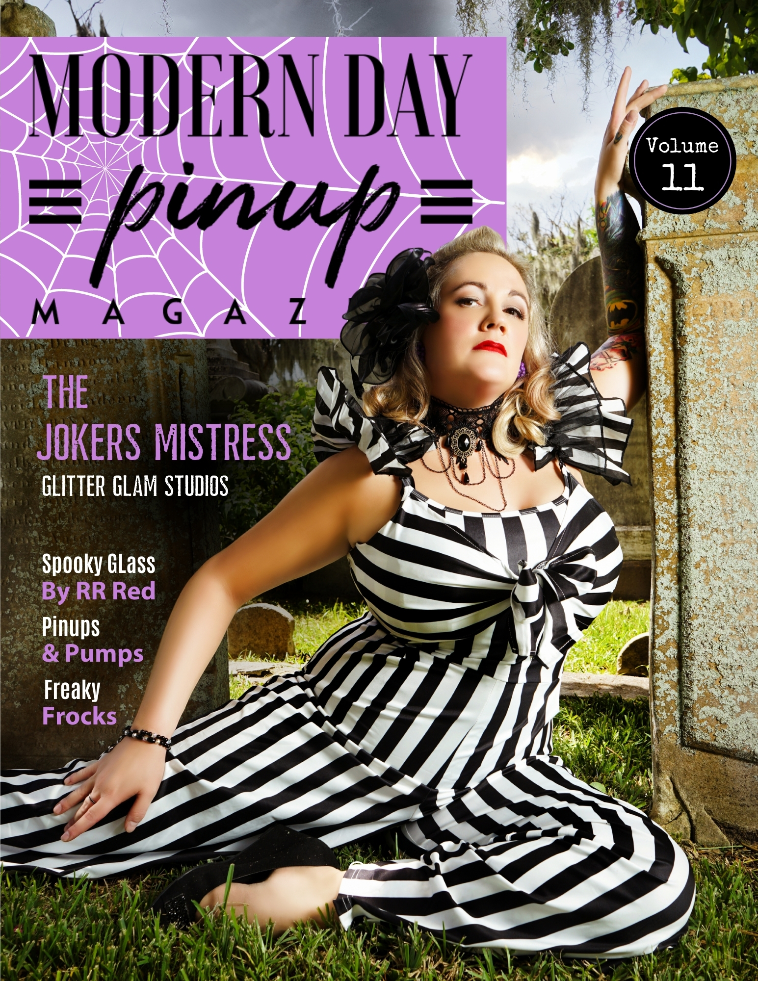 Modern Day Pin Up Magazine Halloween Special Edition Volume 11